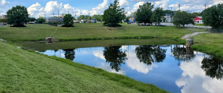 Water management basin